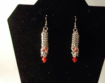 One of a kind 'Torch' earrings