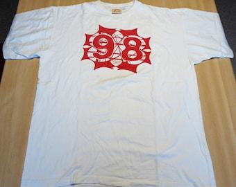 Roskilde Festival 1998 - T-SHIRT   25-26-27-28 June 1998 ( Size : X-Large - Vintage Shirt )