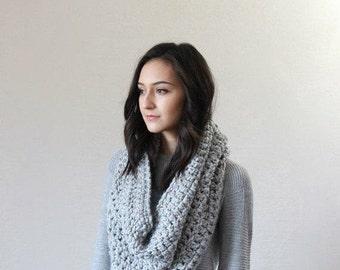 Fin de saison vente foulard Chunky / / La Rochelle - marbre gris