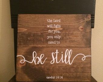 Exodus 14:14 sign