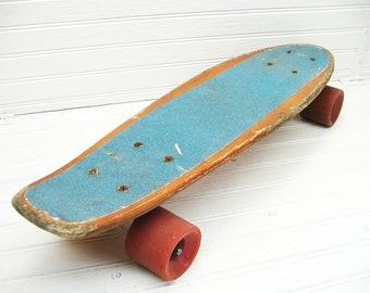 Vintage Skateboard - Wooden Deck Retro Style Skate Board - Kryptonics Skateboard - Penny Skateboard - Penny Board - Skater Gift