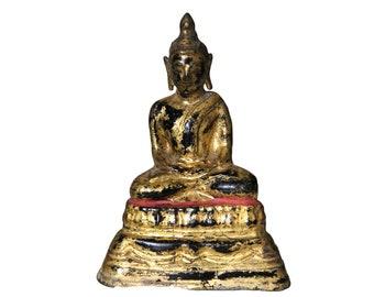 Small Bronze Buddha Rattanakosin - Thailand - 20th century