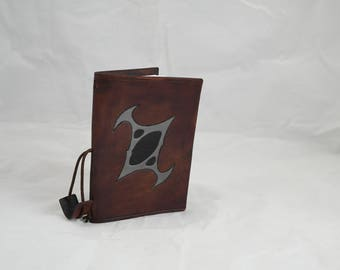 Planescape/Torment Sign leather reusable A6 notebook