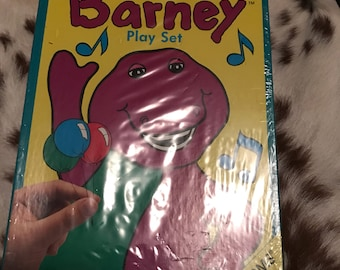 1993 Colorforms Barney playset