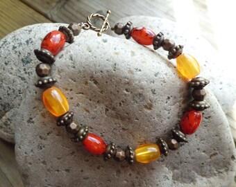 Fall Inspired Bracelet