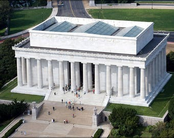 Poster, Many Sizes Available; Lincoln Memorial In Washington, D.C