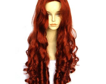 The little mermaid ariel adult costume wig in broadway musical the little mermaid ariel adult costume base wig kit do it yourself solutioingenieria Image collections