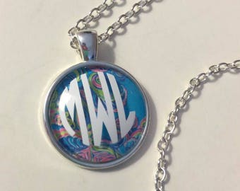 Lilly Inspired Monogrammed Necklace