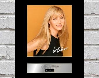 Lisa Kudrow 10x8 Mounted Signed Photo Print Friends