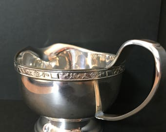 Vintage Silver plated Creamer by Viners Of SHEFFIELD