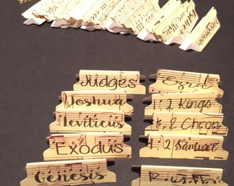 Music Bible Tabs w/Laminating Stickers