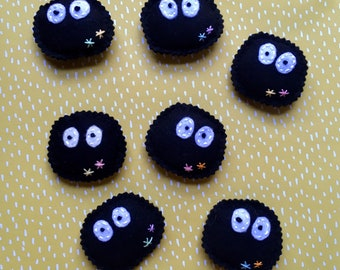 Soot Sprite Cat Toy with Catnip and Jingle Bell