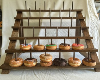 Custom Donut Stand.  Can be adapted to fit Cake Pops or Push Pops too!