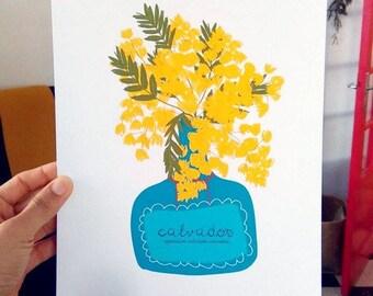 Print- Mimosa-