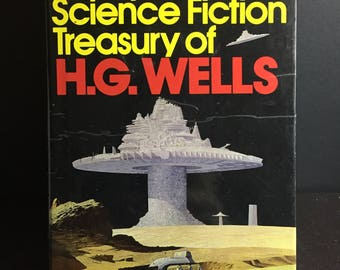 The Complete Science Fiction Treasury of H.G. Wells 7 Novels Hardcover w/DJ 1978