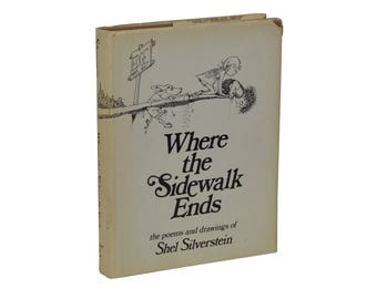 Where the Sidewalk Ends ~ SHEL SILVERSTEIN ~ Stated First Edition 1st Print 1974
