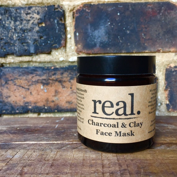 Bentonite Clay And Activated Charcoal Face Mask: Charcoal & Clay Face Mask Detox Mask Activated Charcoal Mask