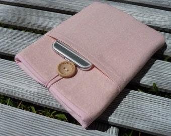 iPad mini 4 case, iPad mini cover, iPad mini sleeve, ipad mini 2 sleeve, iPad mini Pouch, ipad mini case pocket, Pink case ipad mini