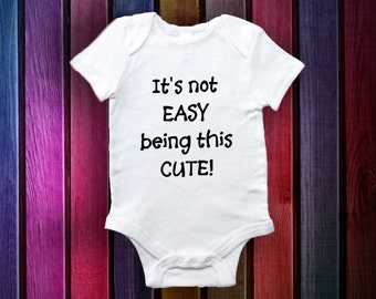 Funny Onesies - Baby Gifts- Baby Onesie