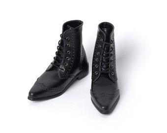 SD_Wingtip Boots (Black)