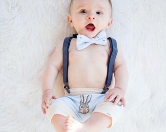 Baby + Toddler Easter Bunny Rabbit Harem Shorts