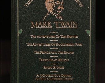 Mark Twain, Treasury of World Masterpieces, Complete & Unabridged, Hardback Book, 1982