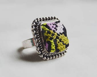 Handcraft embroidery ring