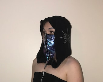 Ninja Hooded Dragon Mask