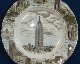 Empire State Building plate