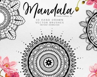 Mandala Illustrator Brushes