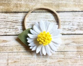 felt flower headband. daisy headband. felt daisy headband. daisy flower headband. baby daisy headband. felt daisy flower headband. daisy.