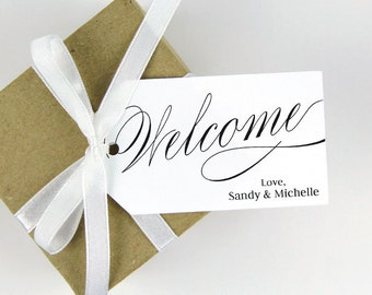 Welcome Tag - Wedding Welcome Tags - Welcome Gifts - Event Gifts - Welcome Tags - Custom Tags - Personalized Tags - MEDIUM