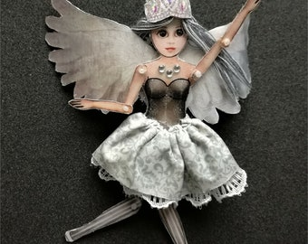 Iris - Angel Doll - Articulated Doll - Jewelry puppet