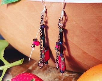 Sophisticated summer earrings
