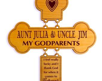 Gift for Godparents - God Parents Gifts - Godparent Gift - God parent Gifts from Godchild - Godson - Goddaughter