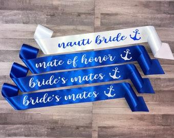 Nauti Bride Sash