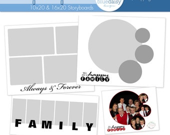 10x20 & 16x20 Family Quote Storyboards for Photographers