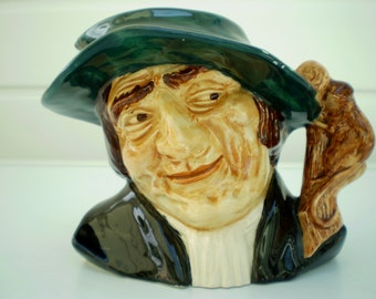 Oldcourt Ware Pottery Character Jug - 'The Rat Catcher' - England - UK