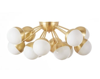 12 Light Cluster Chandelier