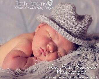 Crochet PATTERNS - Crochet Hat Pattern - Crochet Pattern for Men - Fedora Hat Pattern - Includes 7 Sizes - Photo Prop Pattern - PDF 204