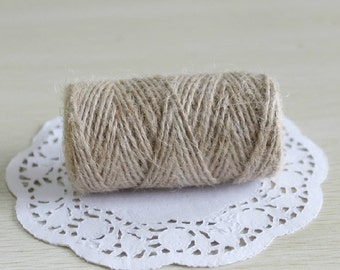 50ms* kraft JUTE twine string bekery girft packing string tag hang tag lable string hand use Labeling & Tagging Supplies