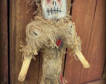 Demon Voodoo Juju Doll Horror Art Doll