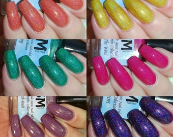 Hidden Depth Collection/Holographic Indie Nail Polish/Holo