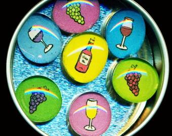 Wine Magnet Set