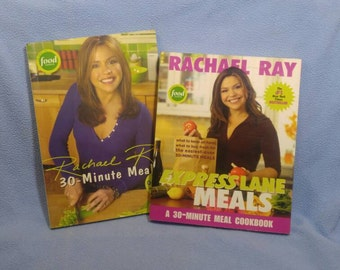 SALE! 2 Rachael Ray Cook Books~ 30-Minute Meals & Express Lane Meals (was 8.00)