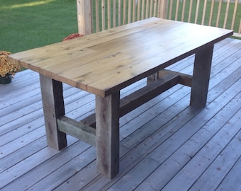 Barnwood Dining Table