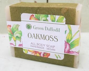 Oakmoss Bar of Soap - Green Daffodil