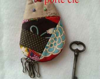 tutorial for Keychain cat card, card instruction and step by step e.