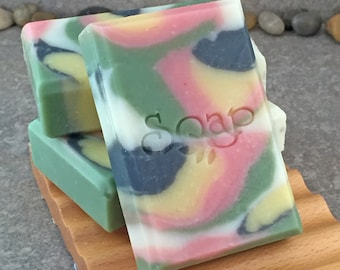 Citrus Basil Scented Decoarative Artisan Soap