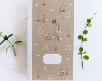 40 pages Notebook - Cats in my garden